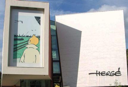 Le musée Hergé à Louvain La neuve